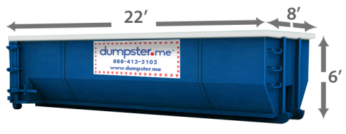 30 Cubic Yard - Local Dumpster Rentals – (888) 413-5105 Toll Free – Residential Roll Off Dumpster, Construction Dumpsters – Free Quote